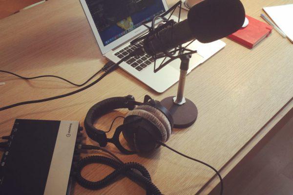 Podcast Setting ESC Greenroom