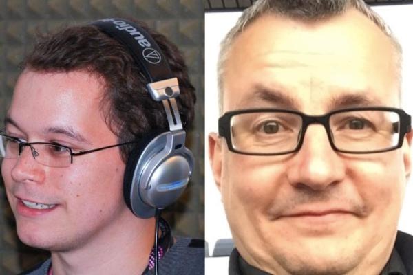 Dennis + Sascha vom ESC Greenroom Podcast